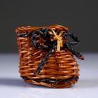 Сувенир «Ботинок», 4,5×7×5,5 см, лоза - фото 487546