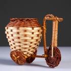 Плетеные сувениры (Велосипед) 15х9 см H 12 см.(Бамбук срезан) - фото 487581