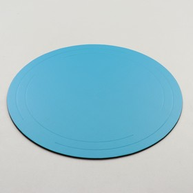 The substrate is reinforced, gold - blue, 36 cm, 3.2 mm