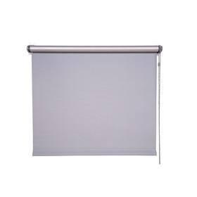 Рулонная штора Магеллан (шторы и фурнитура) «Блэкаут», 55×160 см, цвет стальной