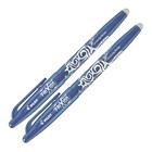Набор гелевых ручек «Пиши-стирай» Pilot Frixion, 0.7 мм, 2 штуки, чернила синие