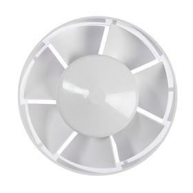 """Вентилятор канальный """"РВС"""" Электра 125, d=125 мм, 220-240 В, белый"""