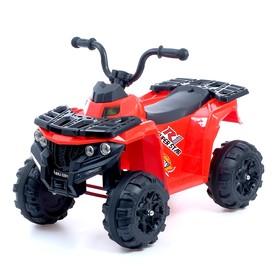 Электромобиль «Квадрик», цвет красный