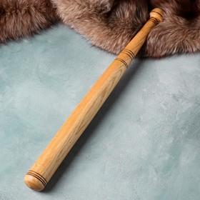 """Сувенирное оружие """"Бейсбольная бита"""", деревянное, 60 см, массив дуба"""