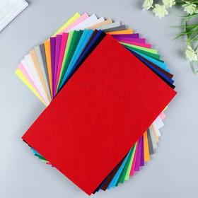 A set of felt pads (hard) 1 mm 20x30 cm 20 sheets CV. cuts