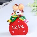 """Piggy Bank """"Love/Kiss me"""" 11,5х7х16,5 cm mix"""