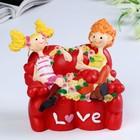 "Piggy Bank ""Love/Kiss me"" 14х11,5x12 cm mix"