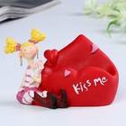 "Stand for mobile phone ""Love/Kiss me"" 11х8х8 cm MIX"