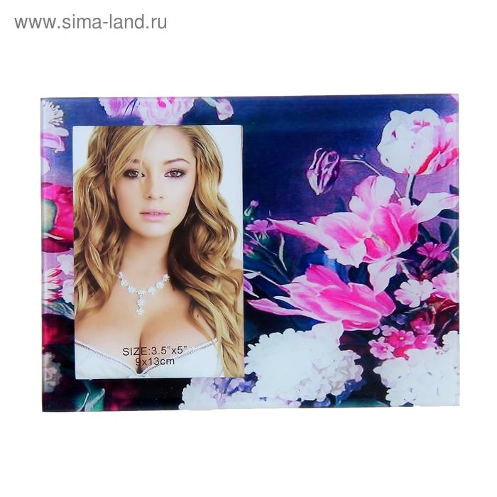 "Фоторамка ""Розовые лилии"" для фото 9х13 см"