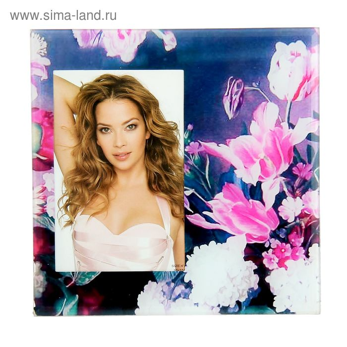 """Фоторамка """"Розовые лилии"""" 10x15 см"""