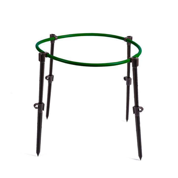 Кустодержатель, d = 50 см, h = 55 см, ножка d = 2 см, пластик, МИКС
