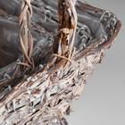 Набор корзин «Корзиночка», 3 шт: 33×31×16/49 см, 27×23×14/46 см, 24×18×11/39 см - фото 1957830