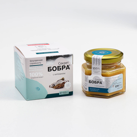Beaver secret with chitosan perfect harmony 100 gr, glass