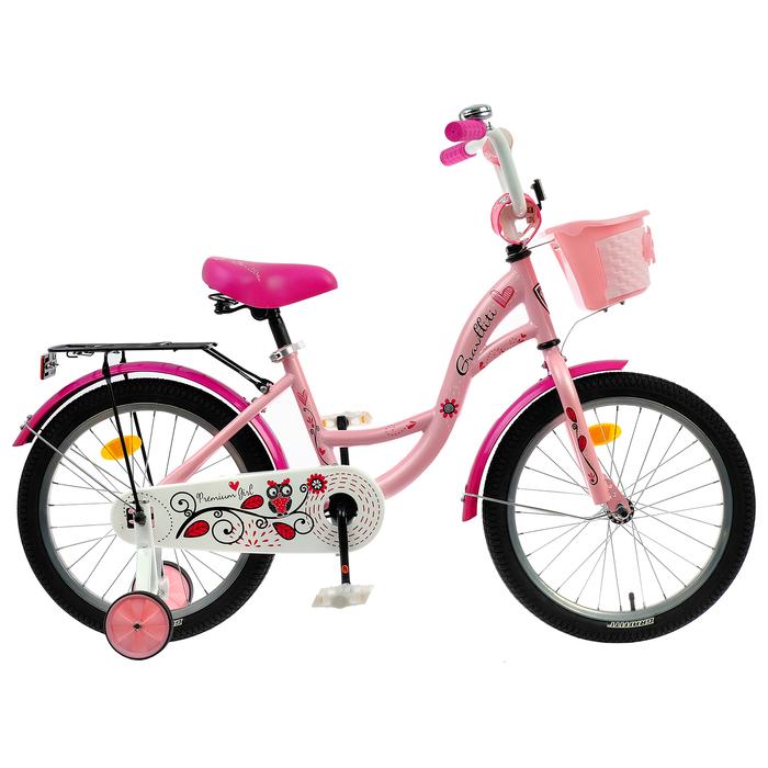 "Велосипед 18"" Graffiti Premium Girl RUS, цвет розовый"