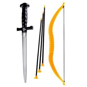 Набор оружия «Забияка», меч, лук, 3 стрелы