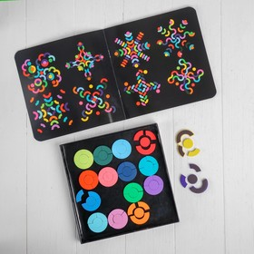 "Educational game on magnets ""Circles"" 2,5 × 20,5 × 20,5 cm"