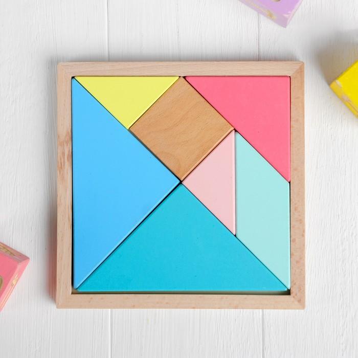 Головоломка «Танграм» 16×16×1,5 см