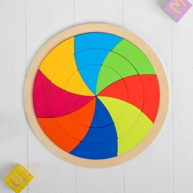 Головоломка «Интересный круг» 30×30×0,8 см