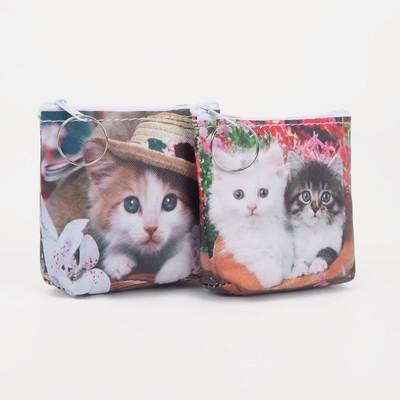 Purse children 07-01-07 Cats 10*2,5*9 cm, mix