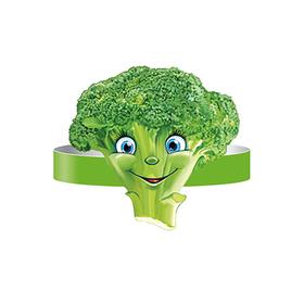"""Mask-band """"Broccoli"""", without finishing"""
