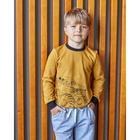 """Свитшот KAFTAN """"Fast speed"""" р.34 (122-128 см), коричневый - фото 105716618"""