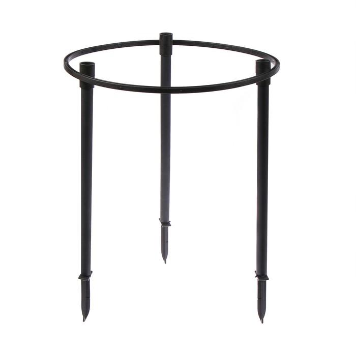 Кустодержатель, d = 38 см, h = 40 см, ножка d = 2 см, пластик, МИКС