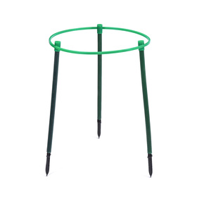 Кустодержатель, d = 45 см, h = 50 см, ножка d = 2 см, пластик, МИКС