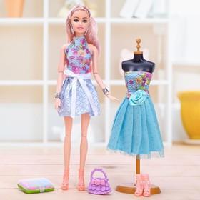 Кукла-модель шарнирная «Анастасия» с аксессуарами, МИКС