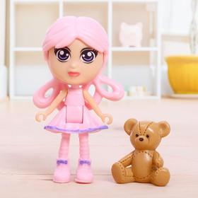 Кукла-малышка «Джессика» с аксессуарами, МИКС