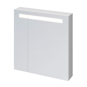 Зеркало-шкафчик Cersanit MELAR 70, с подсветкой, цвет белый