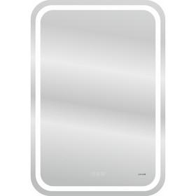 Зеркало Cersanit LED 051 DESIGN PRO 55x80, с подсветкой, антизапотевание, ф-ция звонка