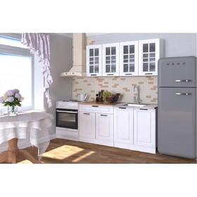 Кухонный гарнитур Гарнитур 6 Белый Вегас 1600 Белый