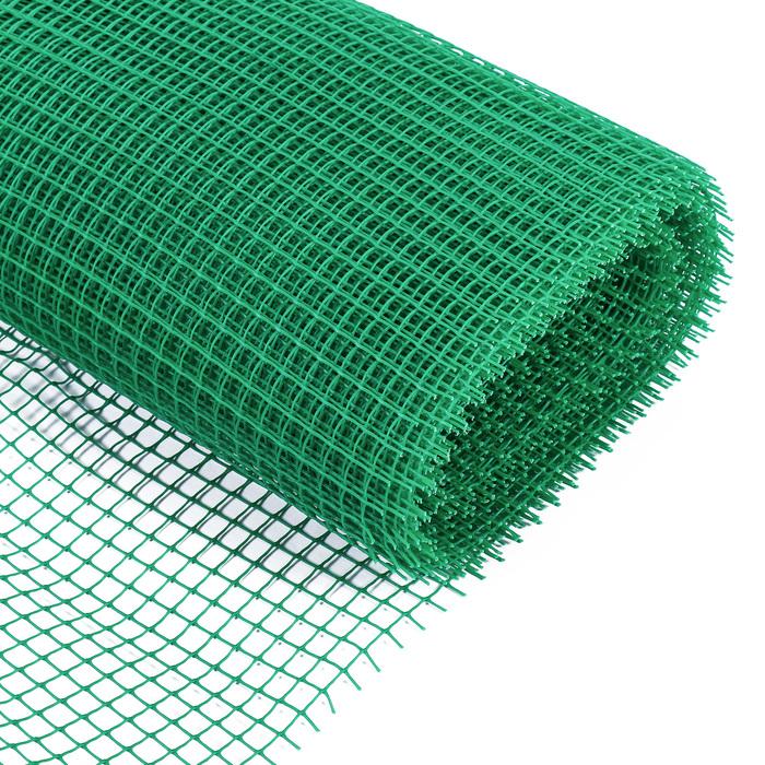 Сетка садовая, 0,9 × 20 м, ячейка 1,7 × 1,7 см, зелёная, Greengo