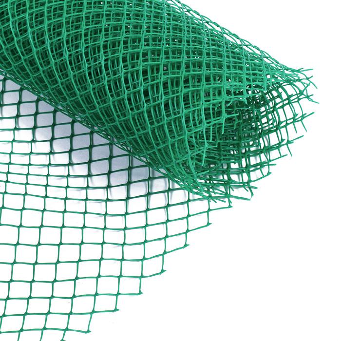 Сетка садовая, 1,5 × 5 м ячейка 1,5 × 1,5 см зелёная, Greengo