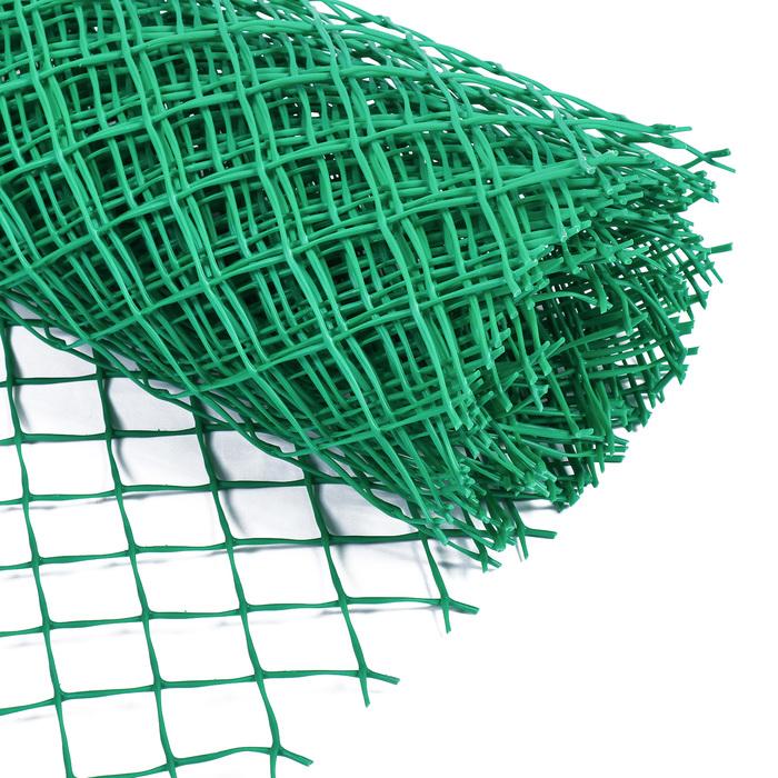 Сетка садовая, 1,5 × 10 м, ячейка 5,5 × 5,5 см зелёная, Greengo