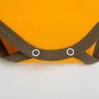 """Боди Крошка Я """"Mom's boy"""", жёлтый, рост 62-68 см - фото 106002540"""