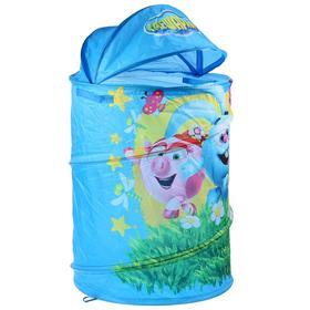 Корзина для игрушек «Смешарики» 43 х 60 см, в сумке