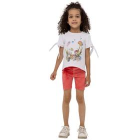 Шорты для девочек, рост 134 см, цвет красный