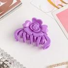 "Hair crab ""gloss"" flower 6.5 cm mix"