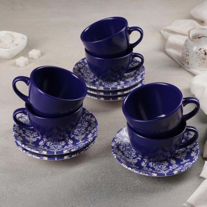 Сервиз чайный 12 предметов «Софи»: 6 чашек, 6 блюдец