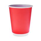 """Стакан """"Красный"""", для горячих напитков двухслойный, 350 мл, диаметр 90 мм"""