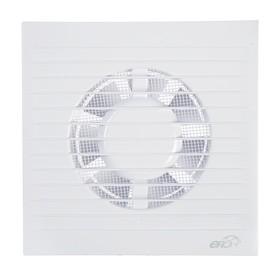 Вентилятор вытяжной ERA E 100 S, 165х165 мм, d=100 мм, 220 В