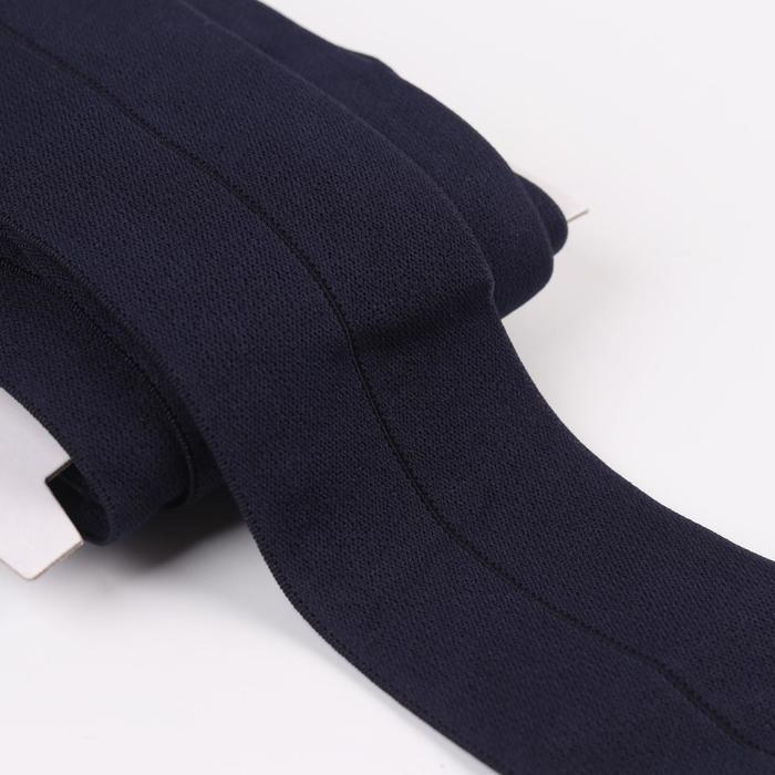 Резинка мягкая с перегибом, 60 мм, 5 ± 1 м, цвет тёмно-синий - фото 687507