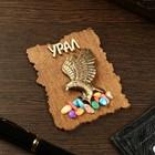 Magnet eagle, wood, plaster, 7х9 cm