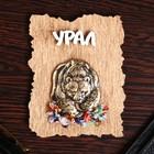"""Magnet """"Bear oval"""", wood, plaster, 7х9 cm"""