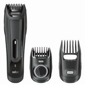 Триммер для бороды и усов Braun BT5070, 6 Вт, 2 насадки, от аккумулятора, чёрный