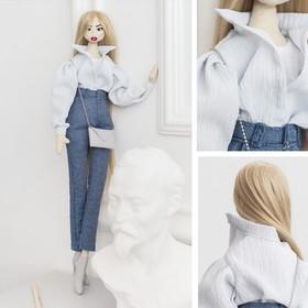 Мягкая кукла «Виолетта», набор для шитья 22,4 × 5,2 × 15,6 см