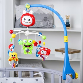 Мобиль музыкальный «Подарок малыша», работает от батарек