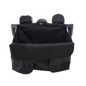 Гамак для перевозки животных 10+ кг, в багажник, 125х100 см, 3 слоя, защита двери