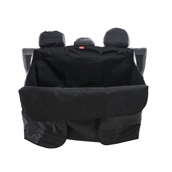 Гамак для перевозки животных 10+ кг, в багажник, 125х100 см, 3 слоя, защита двери - фото 127389